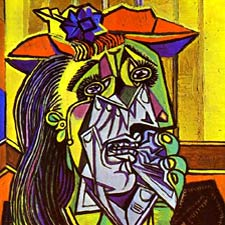 Picasso's Weeping Woman